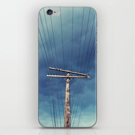 Power Lined iPhone Skin