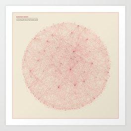 Kantian Nexus - Connecting the Dots of the Kantian Mind Art Print