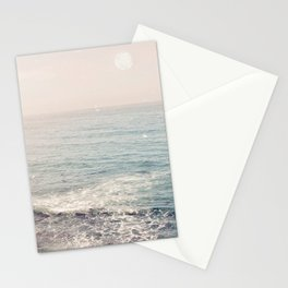 Peachy Sunset Dreams Stationery Cards