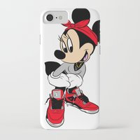 minnie mouse iPhone & iPod Cases featuring MINNIE MOUSE AJ4 by EA88