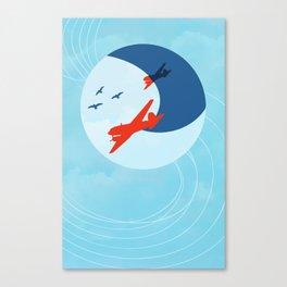Birds & Planes Canvas Print