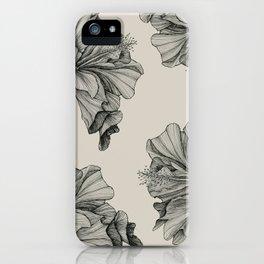 flor pattern iPhone Case
