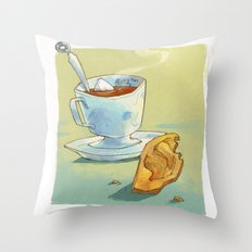 Perfect morning Throw Pillow