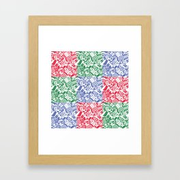 Abstract pattern -2  Framed Art Print