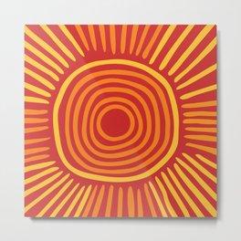 Big sun Metal Print