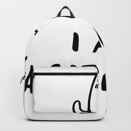 Unicorn Cat I'm a Caticorn Backpack