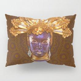 Golden Africa Pillow Sham