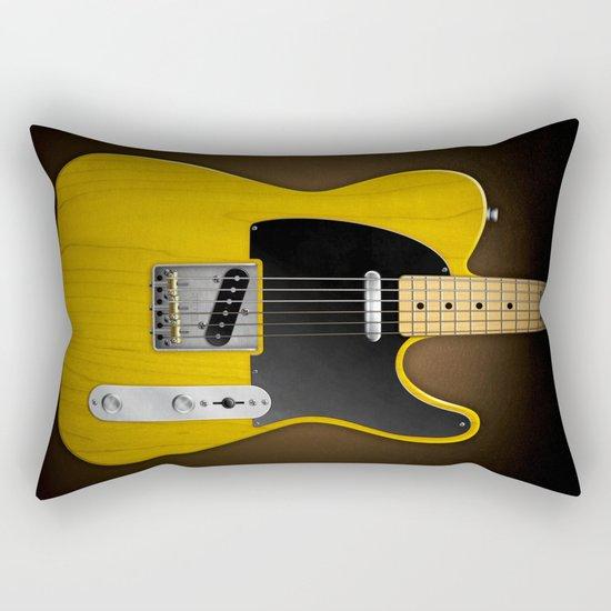 Total Telecaster Rectangular Pillow