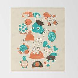 Turtles Throw Blanket