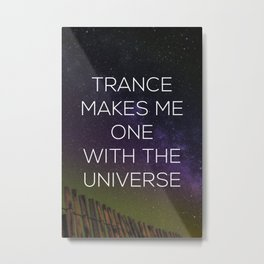 One With the Universe Metal Print
