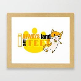 Spirit Animal: Cat! Framed Art Print