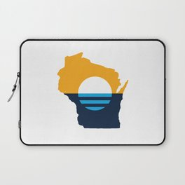 Wisconsin - People's Flag of Milwaukee Laptop Sleeve