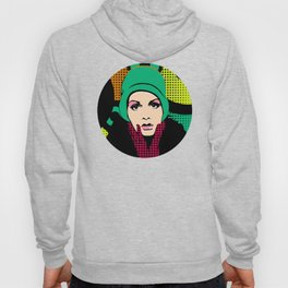 """Twiggy Pop Color"" Hoody"