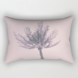 Its Better In The Bahamas Palm Tree Rectangular Pillow