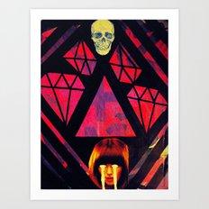 cult of cruelty Art Print