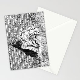 "Story Illustration for ""The White Ship' by H.P. Lovecraft Stationery Cards"