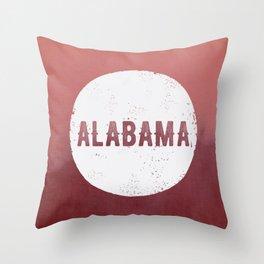 Alabama Roll Tide Throw Pillow