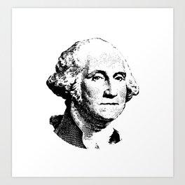 President George Washington Art Print