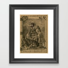 Multiplication is Vexation Framed Art Print