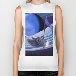 Through Space and Sound Biker Tank
