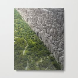 Man vs. Wild Metal Print