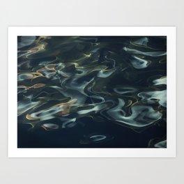 H2O # 1 - Water Abtract Art Print