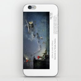 """Cape Town"" in words & image (M.Konecka) iPhone Skin"