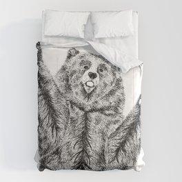 Bears just want hugs Comforters