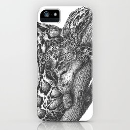 Clouded Leopard Double Image iPhone Case