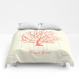 AFE Branch Coral, Living Coral Comforters