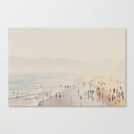 standing on the top of the world ... Canvas Print