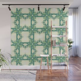 Seamless thorny pattern Wall Mural
