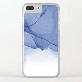 Ocean Ink Clear iPhone Case
