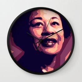 Jazz by Robyn Hardeway  Wall Clock