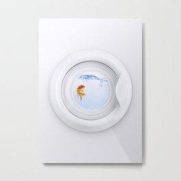 (Very) Clean Goldfish Metal Print