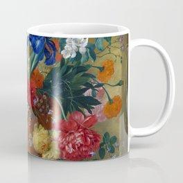 """Jan van Huysum """"Flowers in a Terracotta Vase"""" Coffee Mug"""