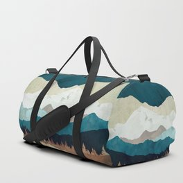 Fall Forest Night Duffle Bag