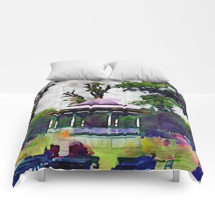 Gazebo One Comforters