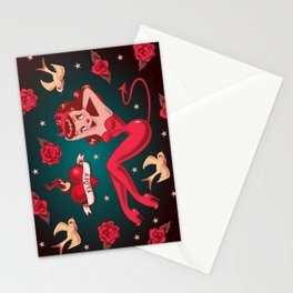 Devilette Stationery Cards