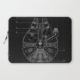 Millennium Falcon Blueprint Laptop Sleeve
