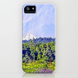 Hood River Oregon - Spring Time In The Hood iPhone Case