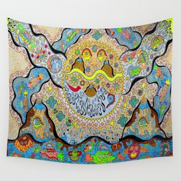 SuperSonicSun Wall Tapestry