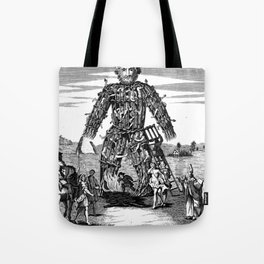 The Wicker Man of the Druids Tote Bag