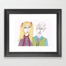 Knitwears Framed Art Print