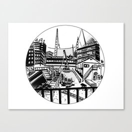UT BOX SET/7 catharijnesingel Canvas Print