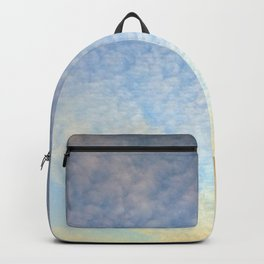 Sunset with clouds Backpack