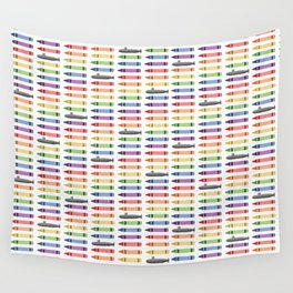 Subs and Crayons Wall Tapestry