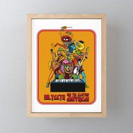 DR. TEETH AND THE ELECTRIC MAYHEM Framed Mini Art Print