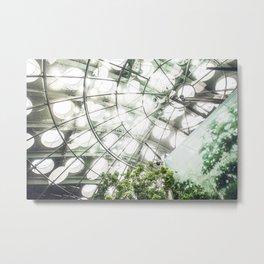 Heliconius sara vs. The Faux Rainforest Metal Print