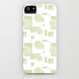 Imperfection in Green iPhone Case